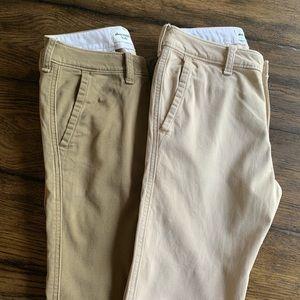 Boys Pants -Khakis -Chino- Abercrombie Kids
